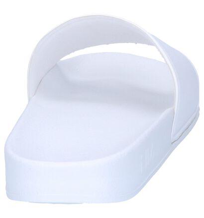 Fila Palm Beach Claquettes de piscine en Blanc, Blanc, pdp