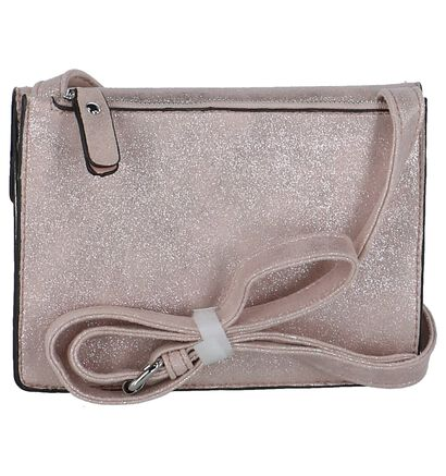 Xti Crossbody Tas Rose Gold in stof (224055)