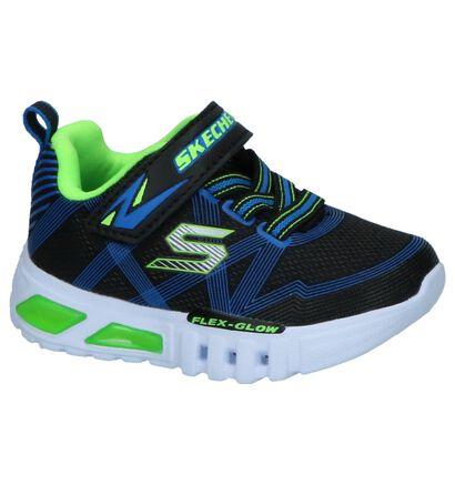 Zwarte Sneakers Skechers Flex Glow, Zwart, pdp