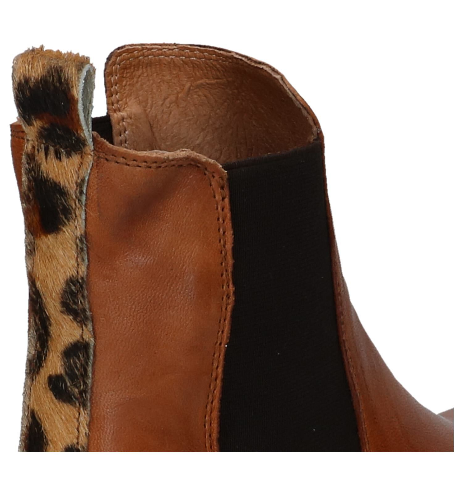Post Xchange Jessy Chelsea Boots Cognac