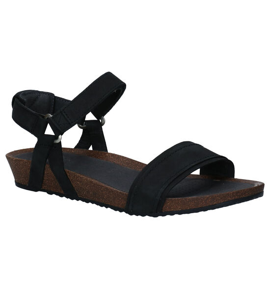 Teva Mahonia Zwarte Sandalen