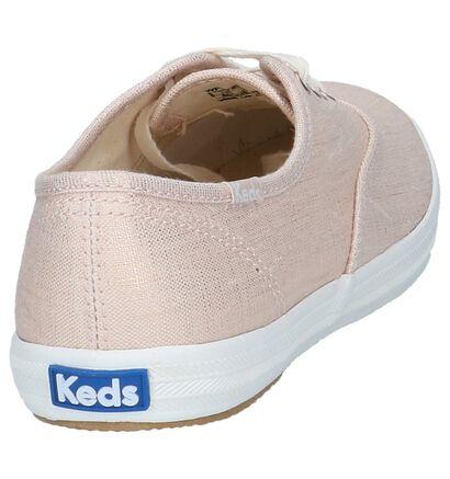 Keds Baskets basses  (Or rose), Rose, pdp