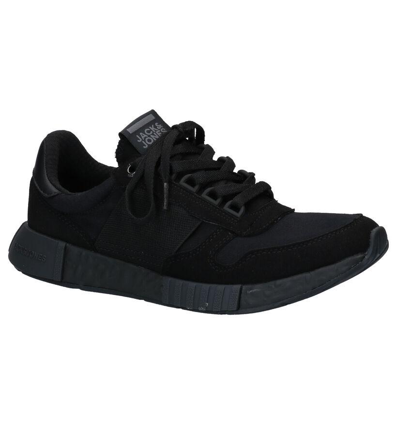 Jack & Jones Zwarte Sneakers in stof (269171)