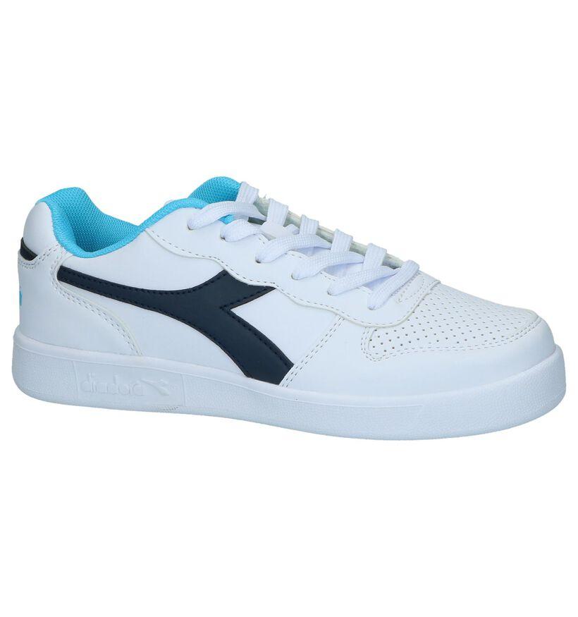 Witte Sneakers Diadora Playground GS in kunstleer (241039)