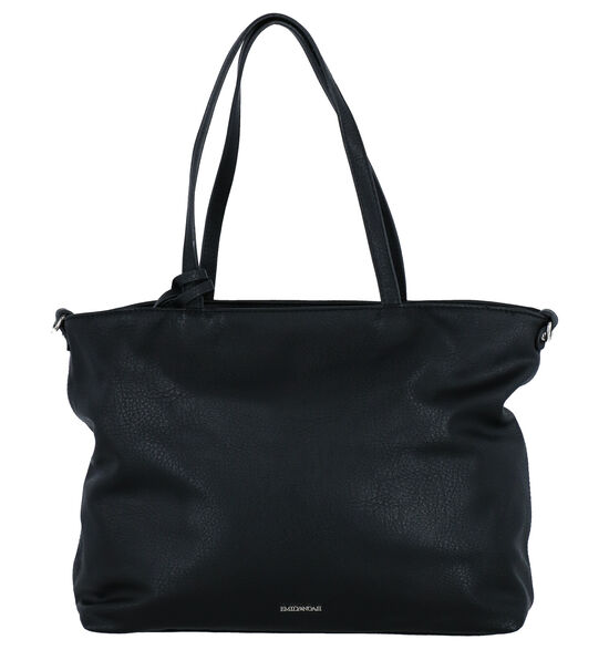 Emily & Noah Zwarte Bag in bag Shopper