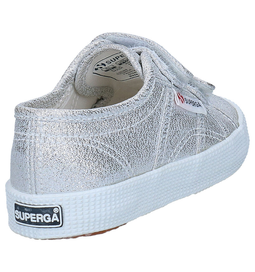 Superga Baskets en Blanc en textile (284317)