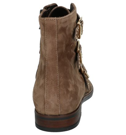 Taupe Boots Gosh in daim (203660)