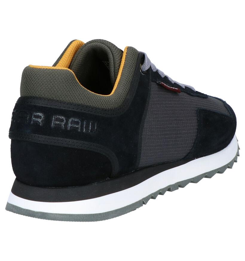 G-Star Calow Chaussures à Lacets en Gris/Noir en daim (264808)