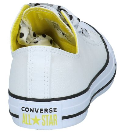 Lage Sportieve Sneakers Converse Chuck Taylor All Star Big Eyelets Wit in stof (220311)