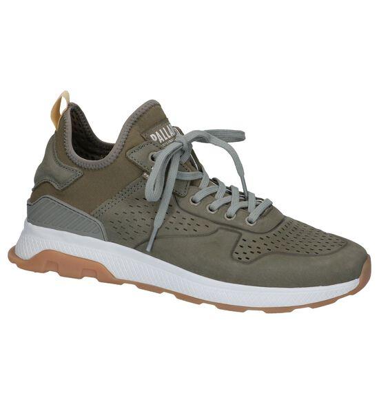Kaki Slip-on Sneakers Palladium Axeon Native