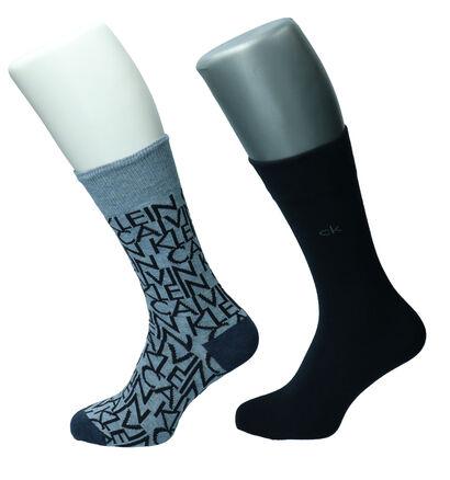 Calvin Klein Zwarte Sokken - 2 Paar (255639)