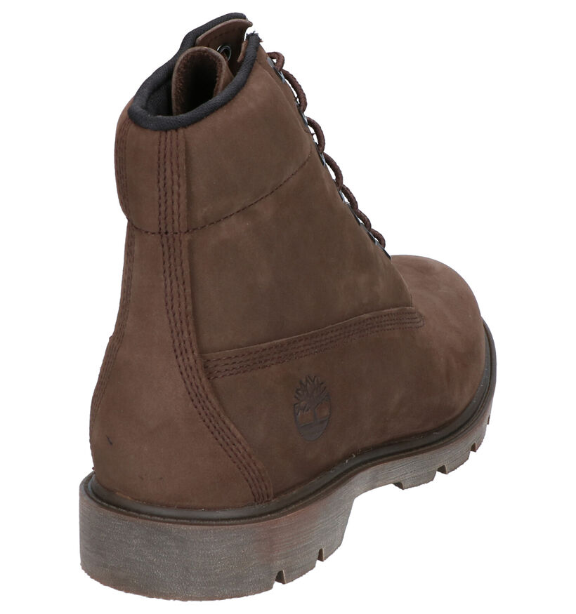 Timberland 6 Inch Basic Bruine Boots in nubuck (255312)