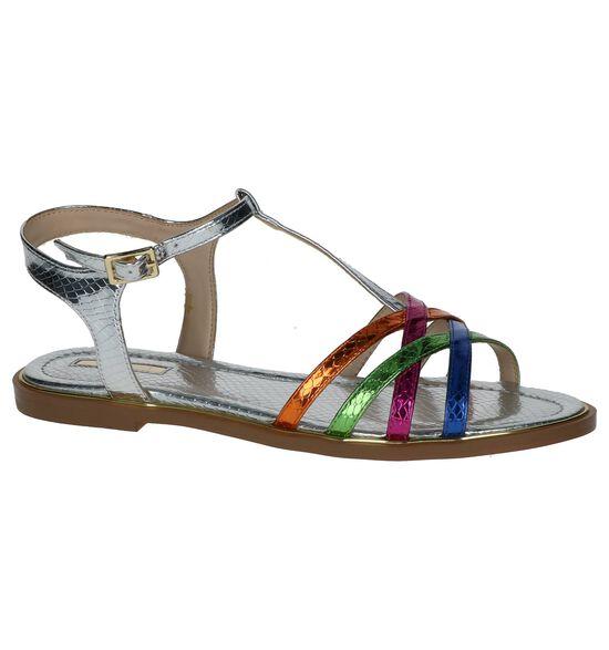 Gaudi Sandales à talons en Multicolore
