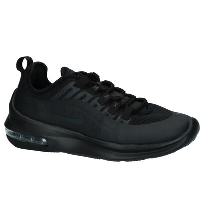 Nike Air Max Baskets basses en Noir en textile (237833)