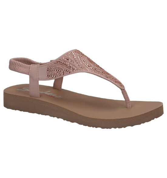Skechers Yoga Foam Sandales en Rose