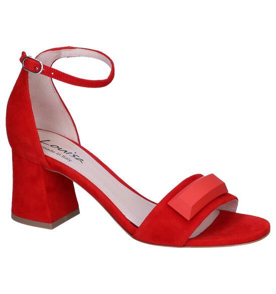 Rode Sandalen Louise Maia 13