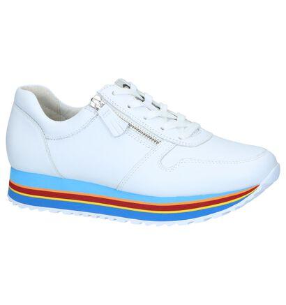 Witte Sneakers Gabor in leer (245386)