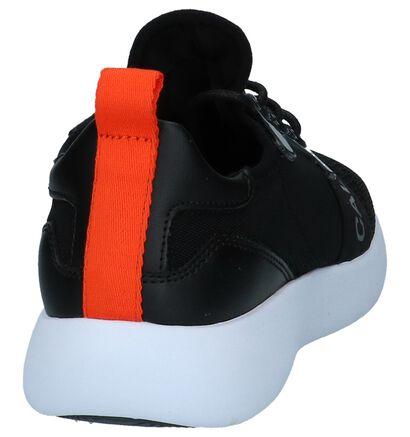 Calvin Klein Meryl Zwarte Sneakers in stof (225210)