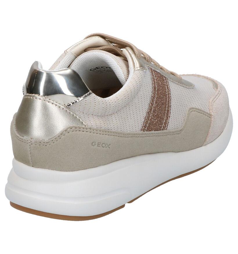Geox Ophira Chaussures à lacets en Noir en simili cuir (266854)