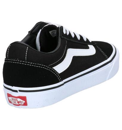 Vans Ward Sneakers Zwart in daim (264243)