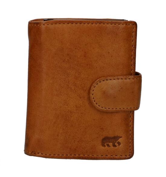 Bear Design Porte-cartes en Jaune foncé