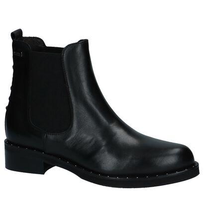 Scapa Chelsea Boots Zwart in leer (227363)
