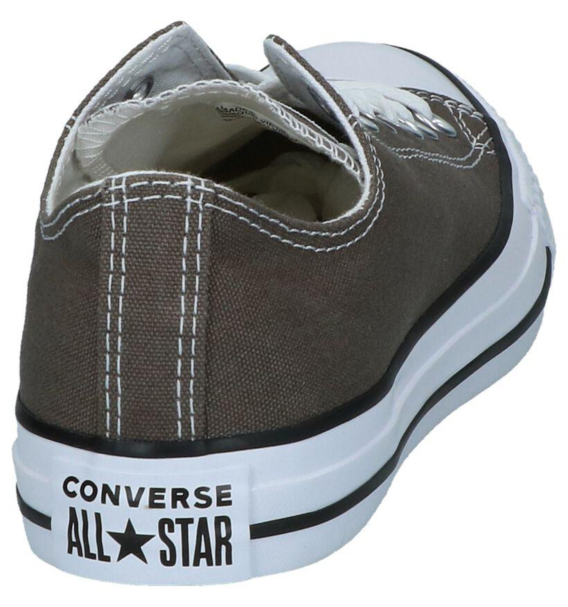 Converse Chuck Taylor All Star Baskets basses en Noir en textile (238365)