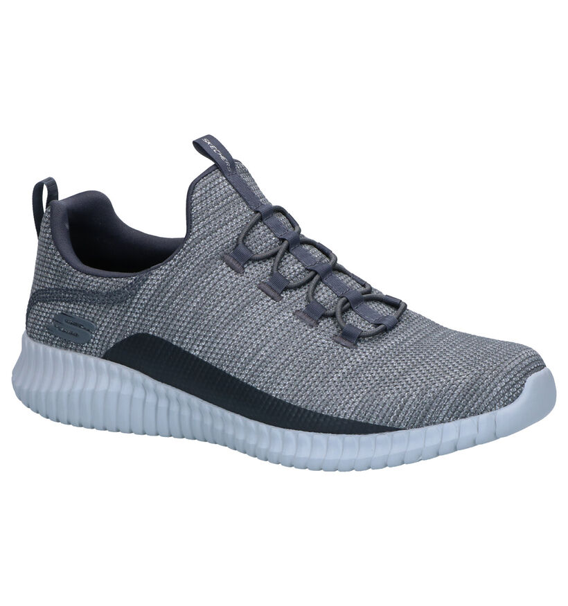 Skechers Elite Flex Westerfeld Sneakers Grijs in stof (266935)