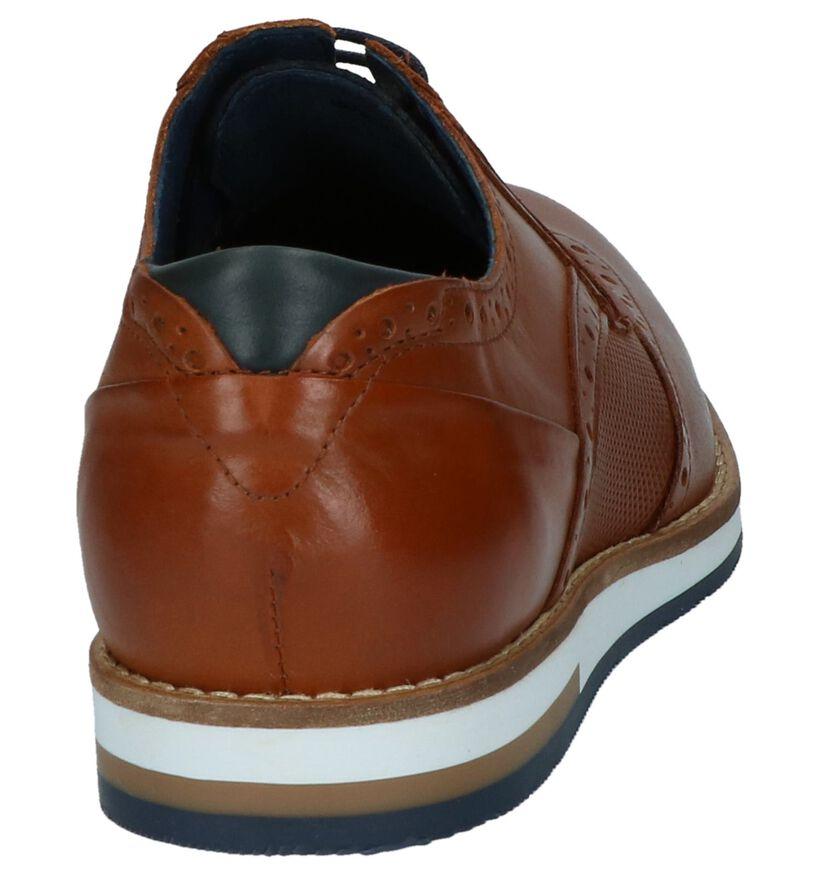Coxx Borba Chaussures basses en Cognac en cuir (217245)
