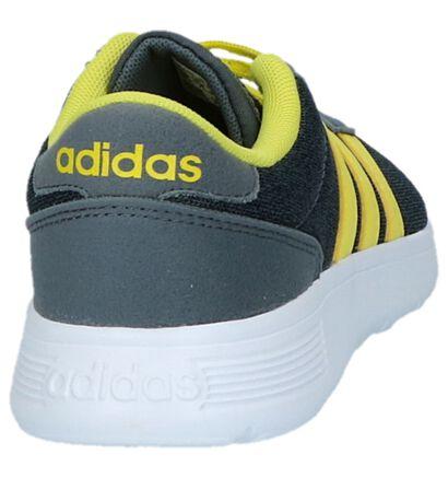 adidas Lite Racer K Baskets en Gris en textile (221807)