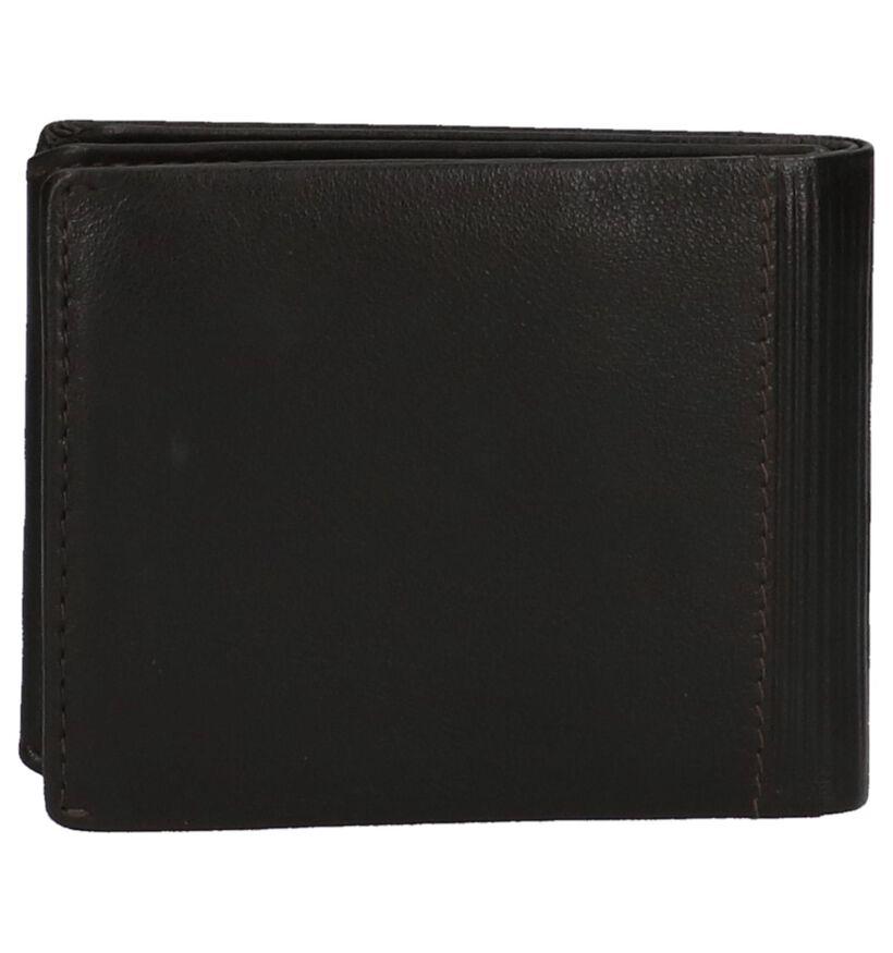 Zwarte Sovereign Portefeuille in leer (219635)
