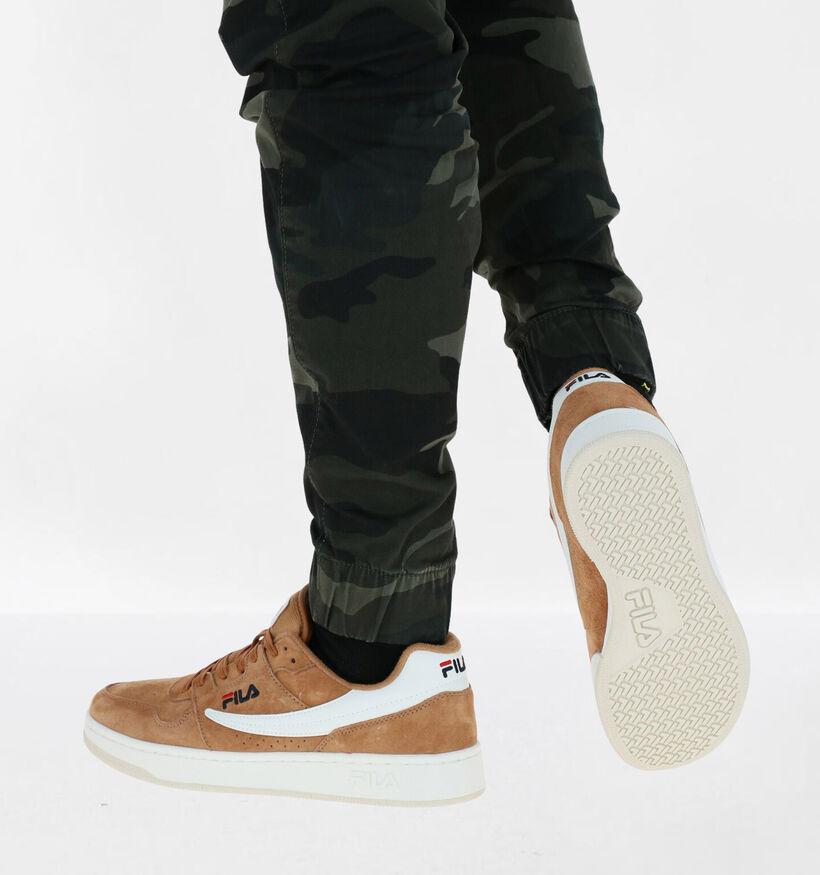 Fila Arcade Cognac Sneakers in nubuck (279084)