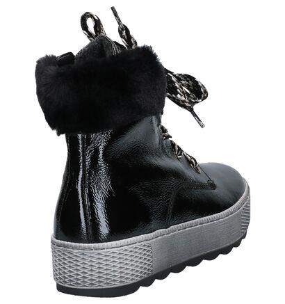 Gabor Comfort Zwarte Boots in imitatieleer (260139)