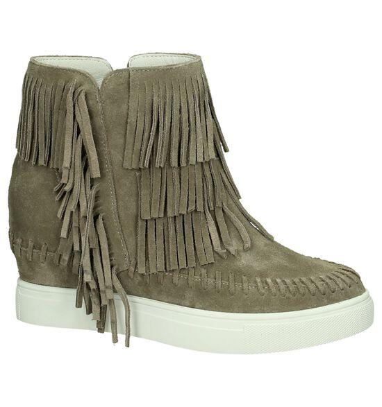 Via Roma Taupe Boots