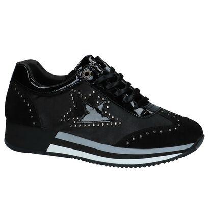 Zwarte Geklede Sneakers Cetti, Zwart, pdp
