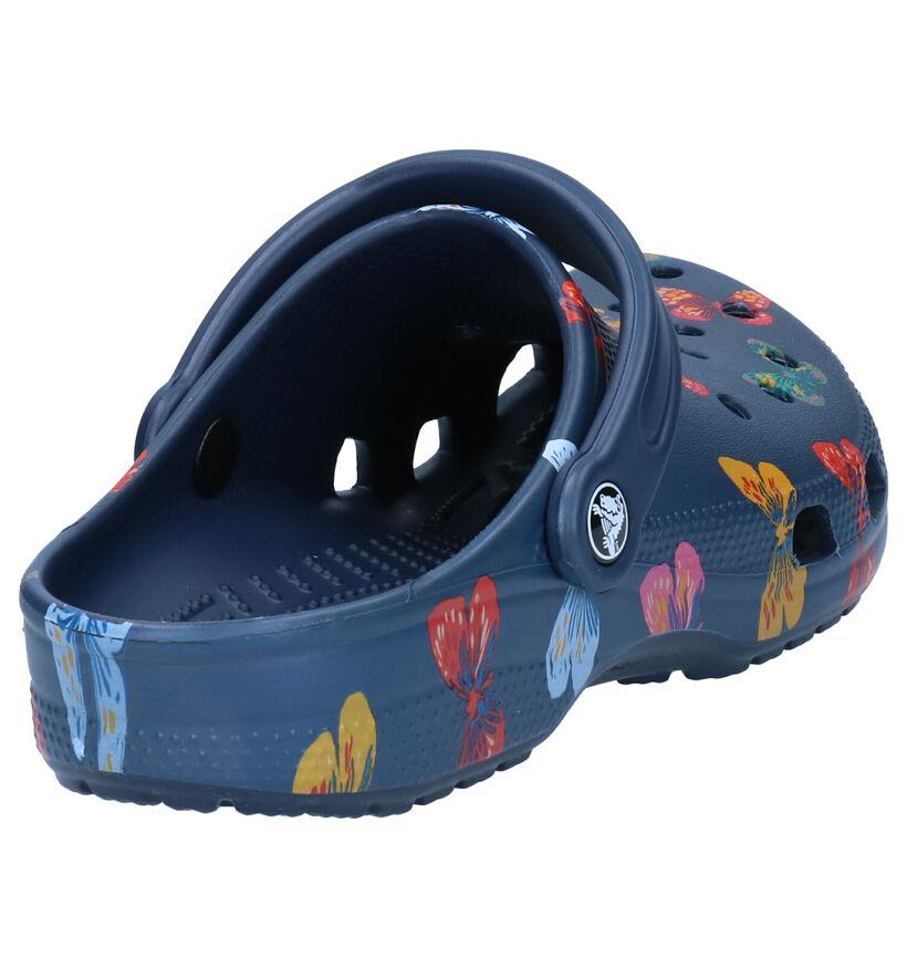 Crocs Classic Nu-pieds en Bleu en synthétique (270764)