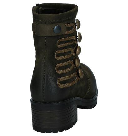 Baboos Kaki Boots in nubuck (235316)