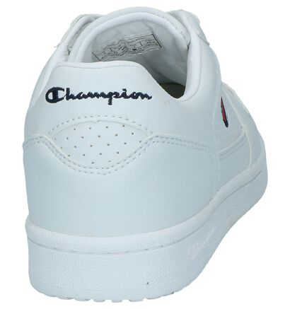 Witte Sneakers Champion Chicago Basket Low in kunstleer (240826)