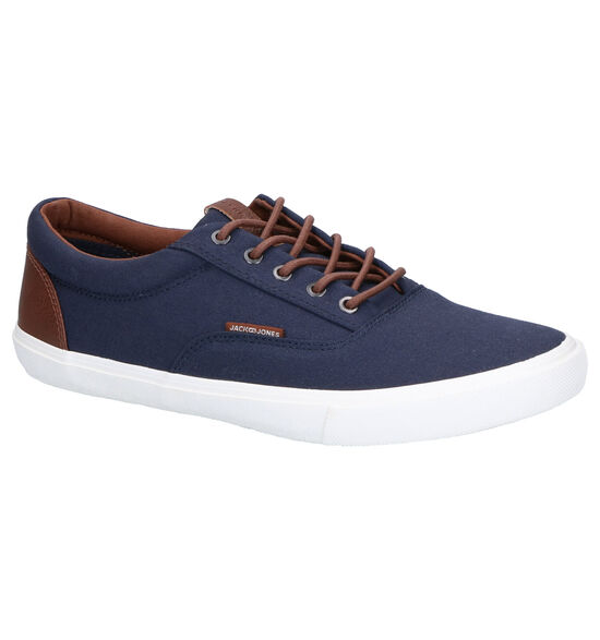 Jack & Jones Vision Mixed Blauwe Sneakers