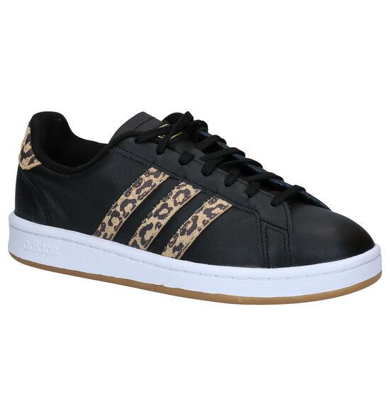 adidas Grand Court Zwarte Sneakers