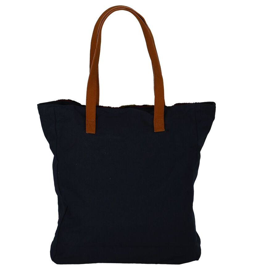 Roxy Donker Blauwe Shopper in stof (223890)