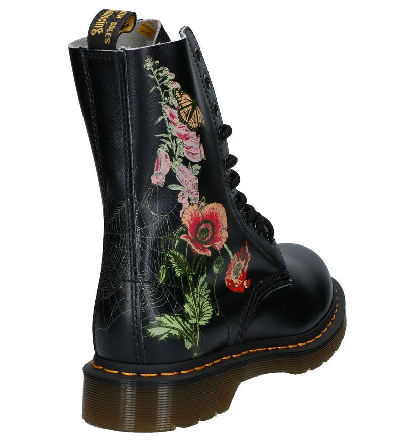 Dr. Martens 1490 WB Zwarte Boots in leer (253433)