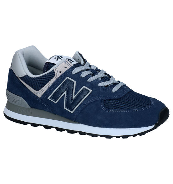 New Balance ML574 Blauwe Sneakers