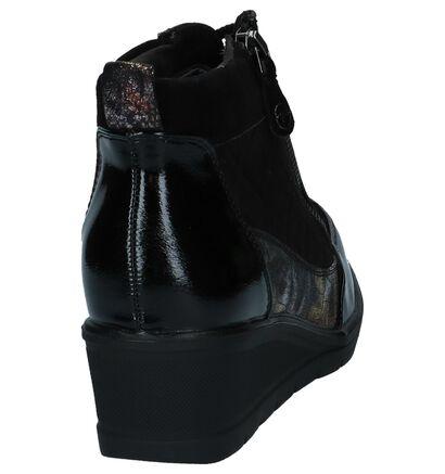 Tamaris Chaussures basses en Noir en cuir verni (226783)