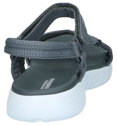 Zwarte Sandalen Skechers On-The-Go, Grijs, pdp