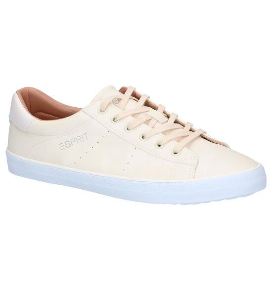 Esprit Miana Lu Chaussures à lacets en Ecru