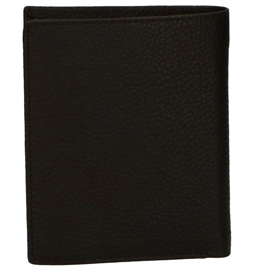 Crinkles Portefeuille en Noir en cuir (291834)