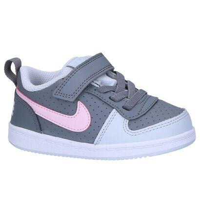 Babysneakers Nike Court Borough Wit, Grijs, pdp