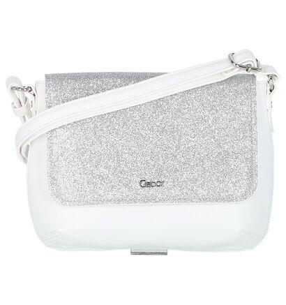 Gabor Sacs porté croisé en Blanc en imitation cuir (221506)