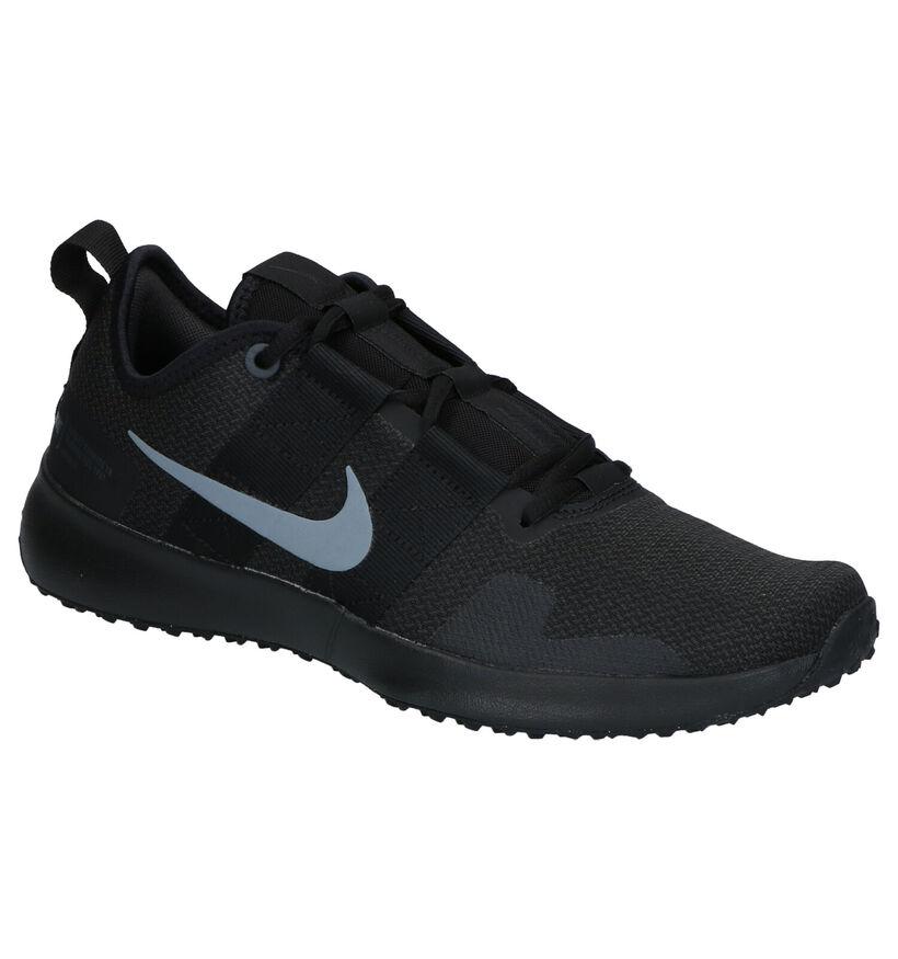 Nike Varsity Compete Zwarte Sportschoenen in stof (254029)